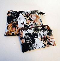 Dog Breed Coin Purses-dog breeds, coin purses, coin pouch, money bag, zipped bag, wallet
